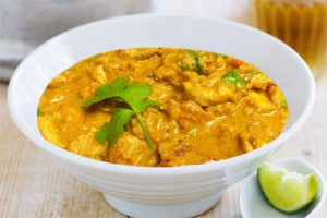 Indian Chicken Curry with Fresh Turmeric
