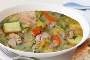 Classic Chicken and Leek Casserole