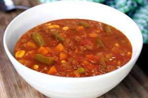 Italian Vegetable with Pancetta and Pearl Barley Soup