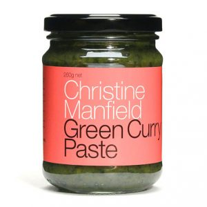 Green Curry Paste by Christine Mansfield