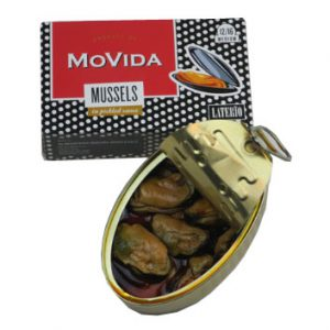 Movida mussels in pickled sauce