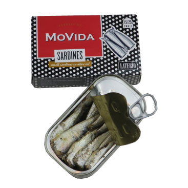 Movida sardines in olive oil