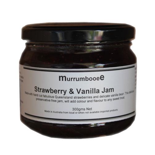 Strawberry & Vanilla Jam by Murrumbooee