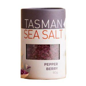 Pepper berry sea salt by Tasman Sea Salt