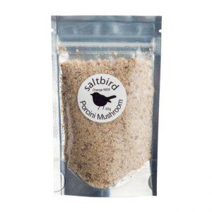 Porcini mushroom flavoured salt by Salt Bird