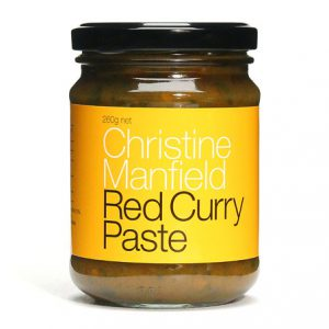 Red Curry Paste by Christine Mansfield