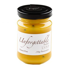 Unforgettable passionfruit curd