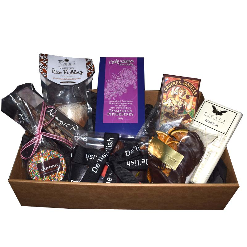 Artisan chocolate gift hampers Sydney