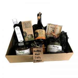 Australian gift hamper full of Australian regional products